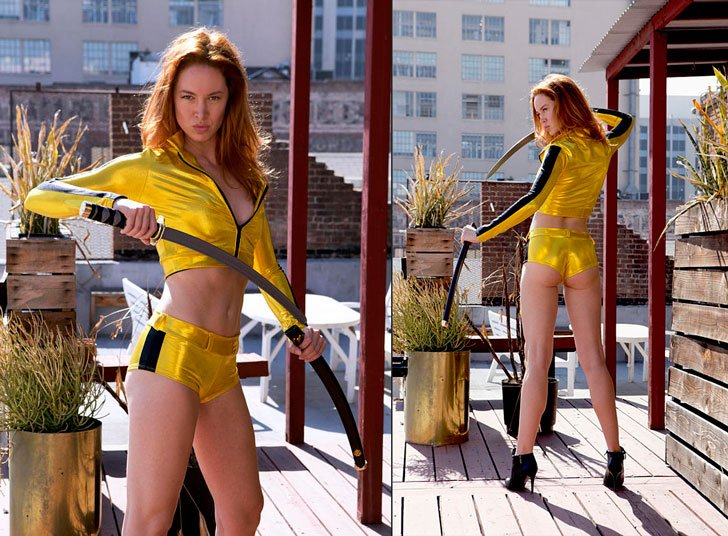 Kill Bill Cosplay Costume