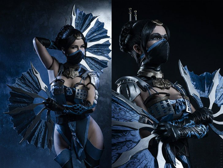 Kitana Mortal Kombat Cosplay Costume - Cosplay Ideas For Girls