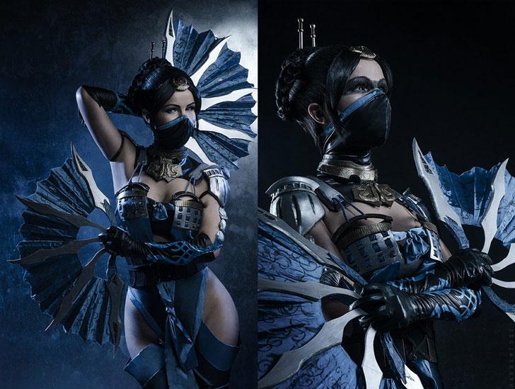 Kitana Mortal Kombat Cosplay Costume - Cosplay Ideas For Girls