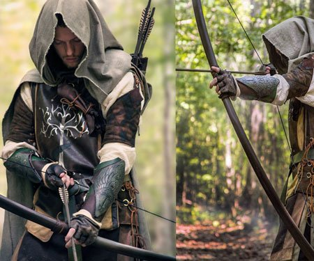 Lord of the Rings Aragorn Ranger Bow