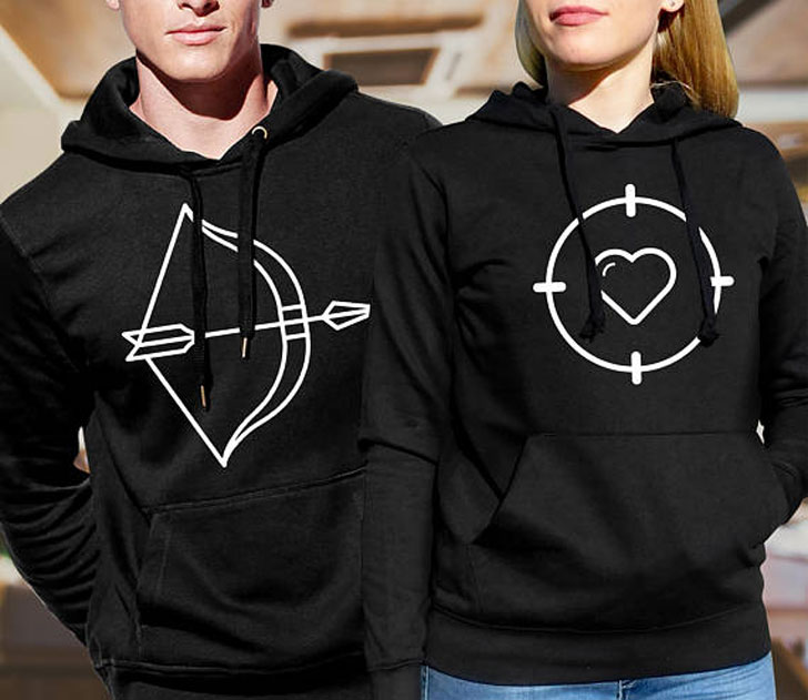 Love Arrow Matching Couples Set