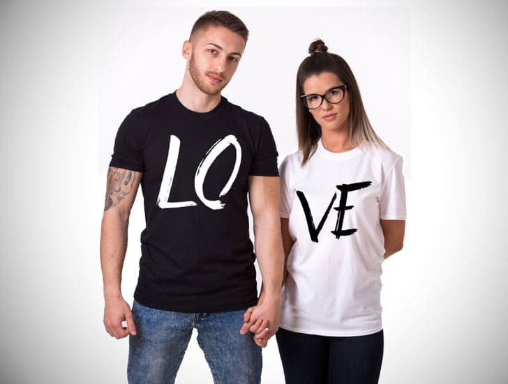 Love Couples T-Shirts