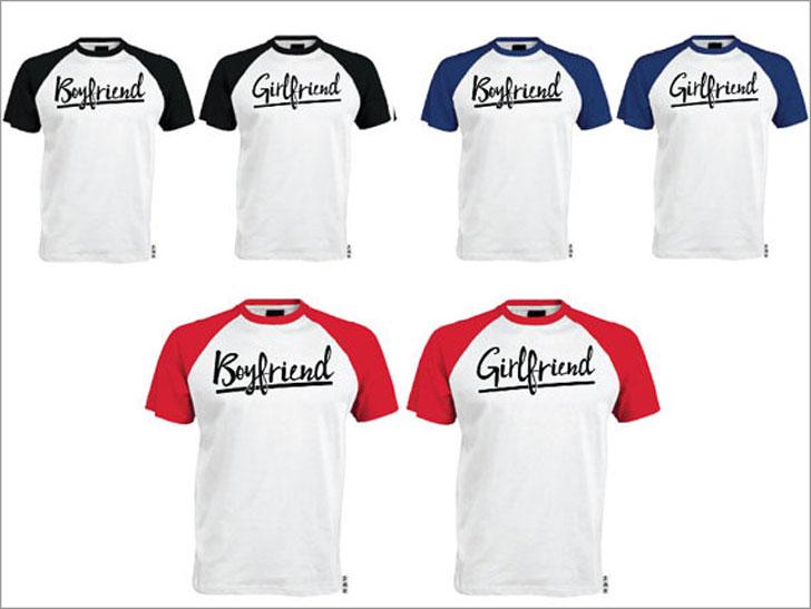 Matching Boyfriend & Girlfriend T-Shirts