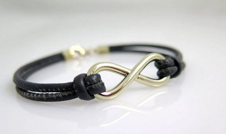 Men's 14k Gold Infinity Bracelet