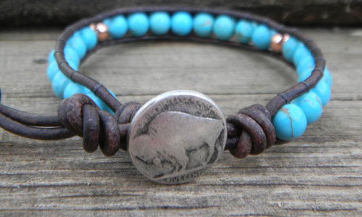 Mens Native American Bracelet