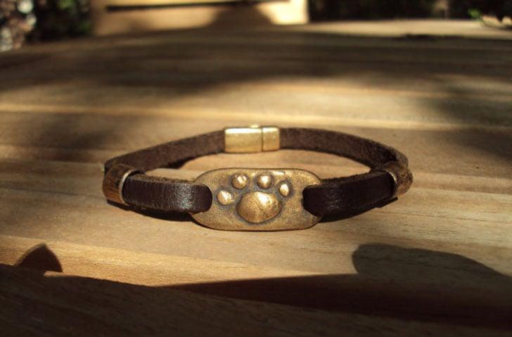 Mens Pet Memorial Bracelet