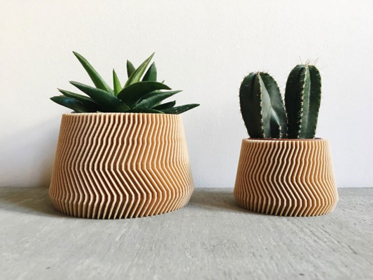 55 unique planters and cool pots for all house plants. Black Bedroom Furniture Sets. Home Design Ideas