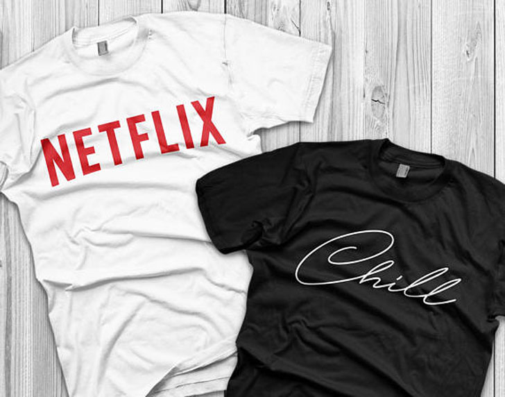 Netflix & Chill Couples Tees