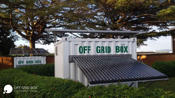 OffGridBox All-In-One Sustainable Energy System