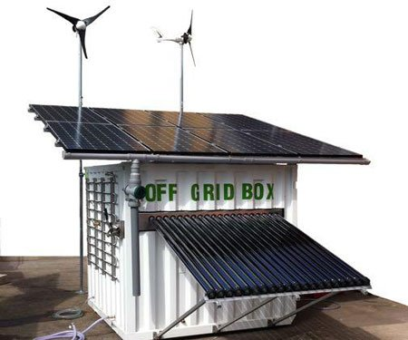 offgridbox all in one sustainable energy system - Cool House Accessories