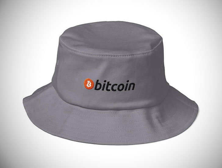 Old School Bitcoin Bucket Hip Hop Hat