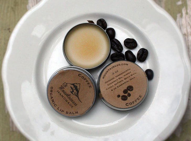Organic Coffee Lip Balm