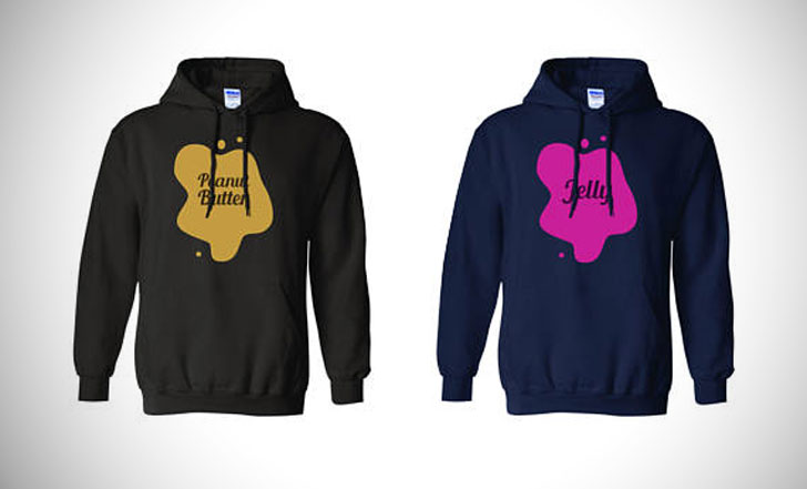 Peanut Butter And Jelly Hoodies