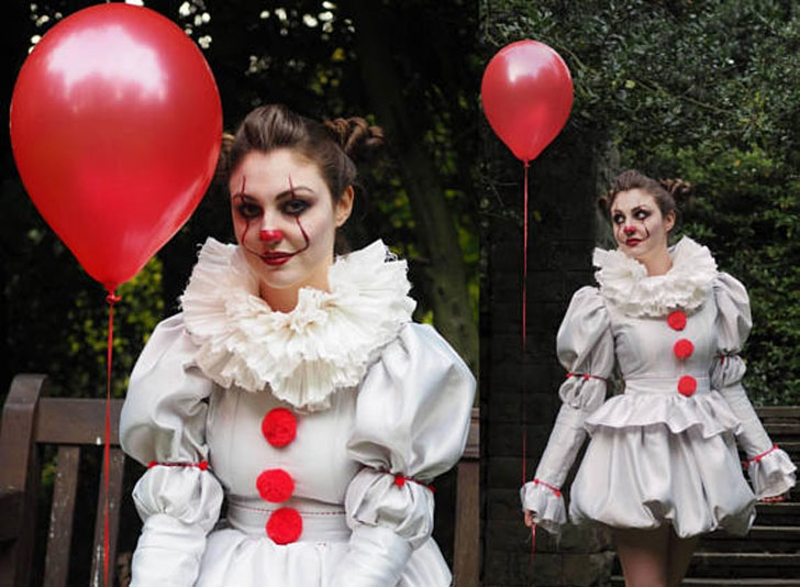 Pennywise 2017 Clown Cosplay Costume - Cosplay Ideas For Girls