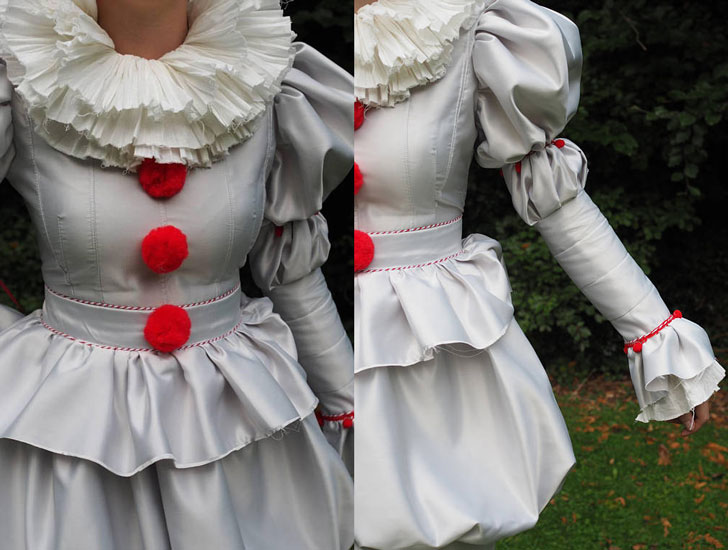 Pennywise 2017 Clown Cosplay Costume