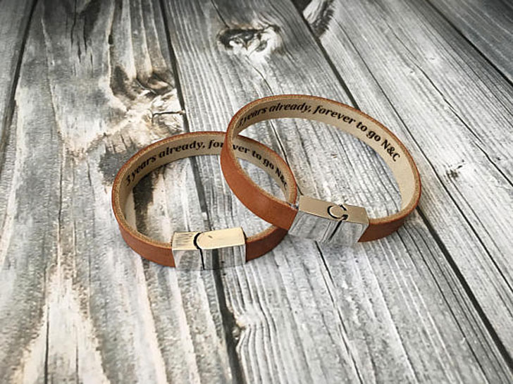 Personalised Bracelets for Him & Her