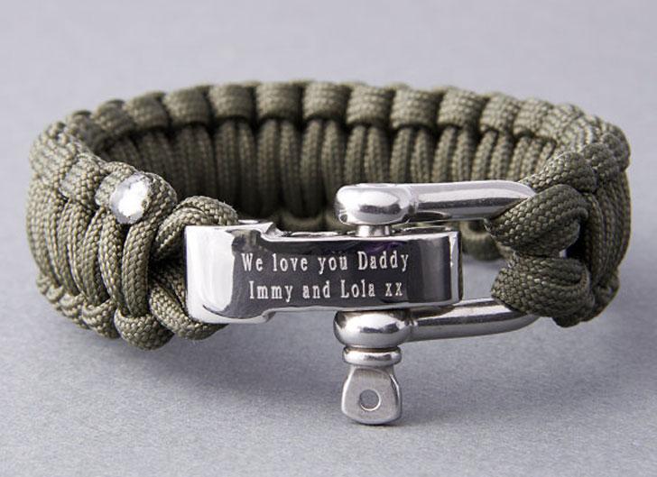 Personalised Paracord Survival Bracelet