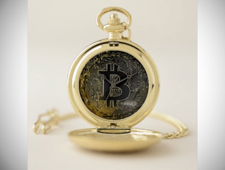 Personalized Bitcoin Pocket Watch