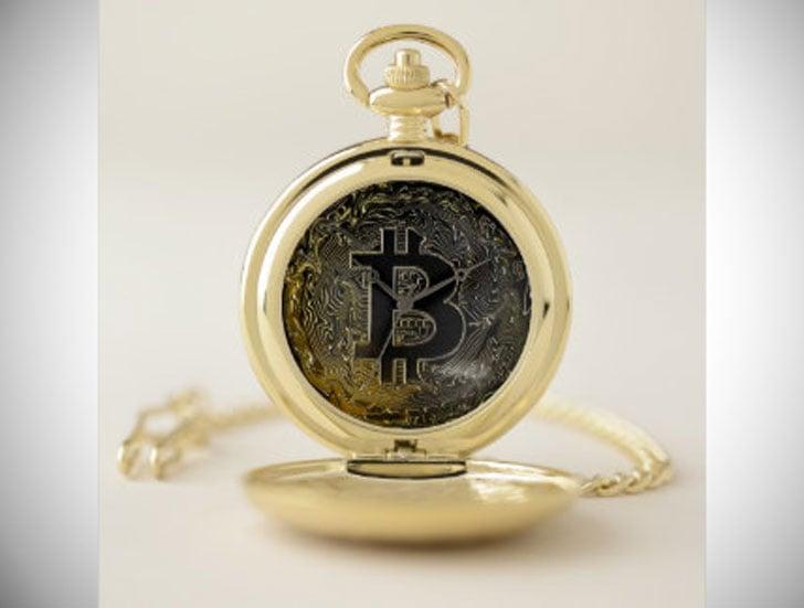 Personalized Bitcoin Pocket Watch