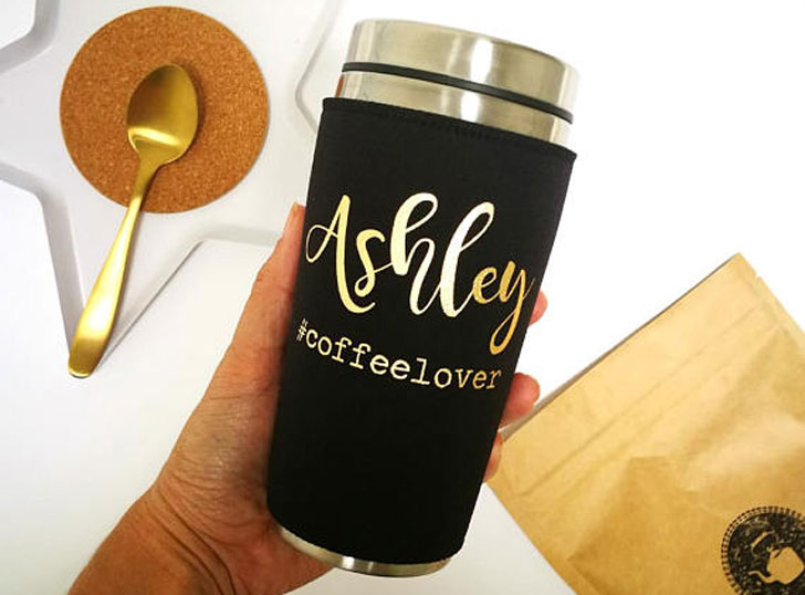Personalized Coffee Travel Mug