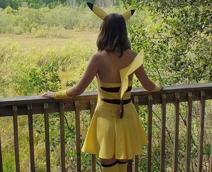 Pikachu Cosplay Costume
