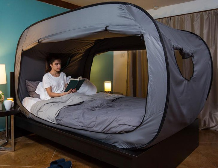 Privacy Pop Bed Tent  sc 1 st  Awesome Stuff 365 : tent for a bed - memphite.com