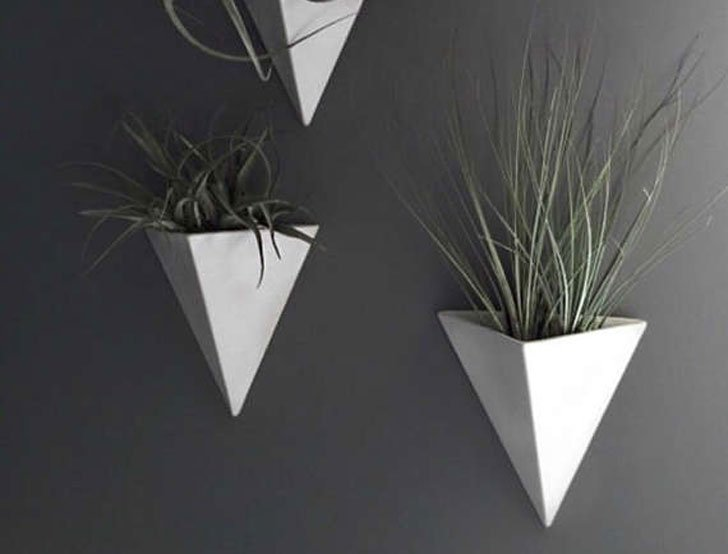 Pyramid Wall Mounted Planters