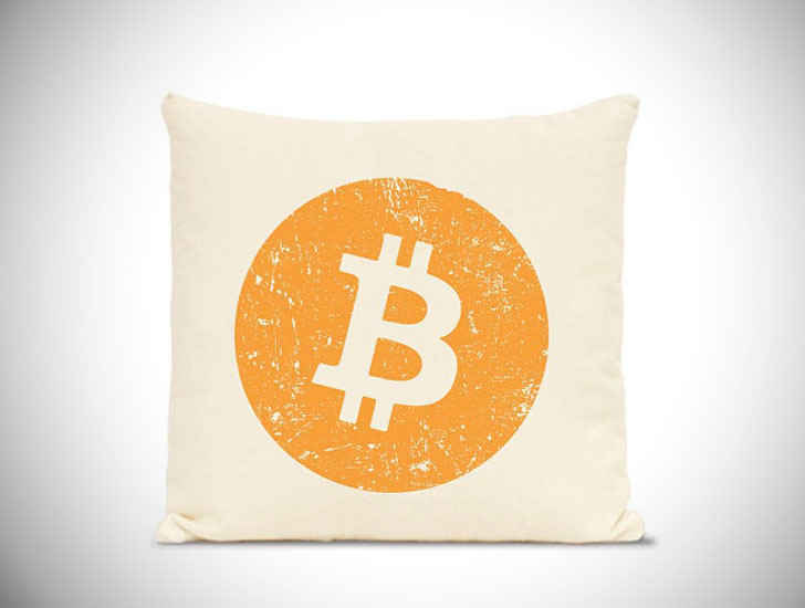 Quality 100% Cotton Bitcoin Pillows