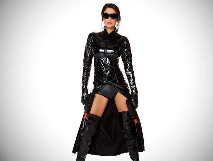 Reloaded 4-piece Fantasy Costume
