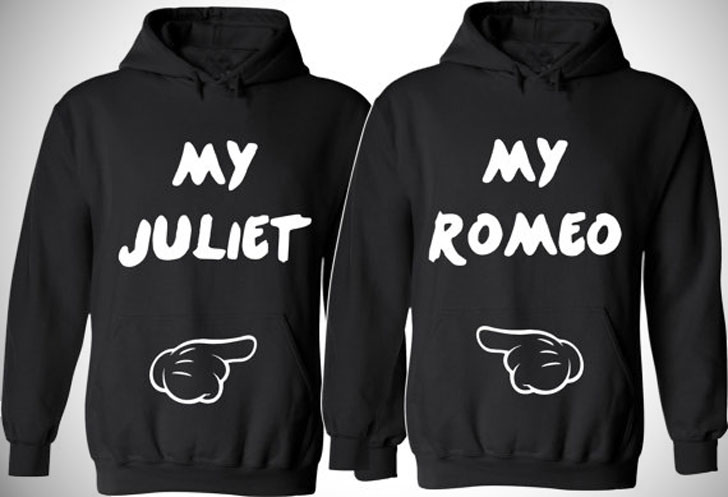 Romeo & Juliet Couples Hoodies