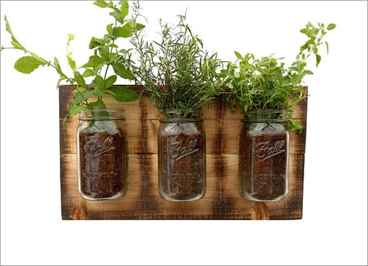 Rustic Herb Planter