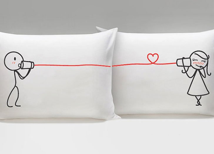 Say I Love You His and Hers Matching Couple Pillowcases - couples pillowcases