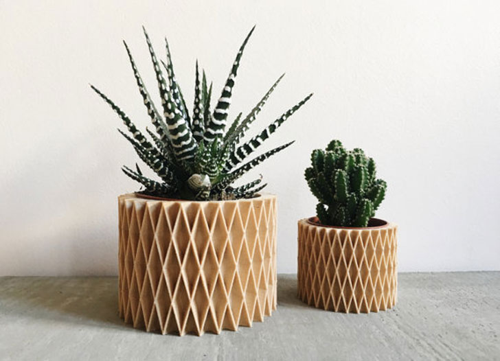 Scandinavian Design Minimalist Planter