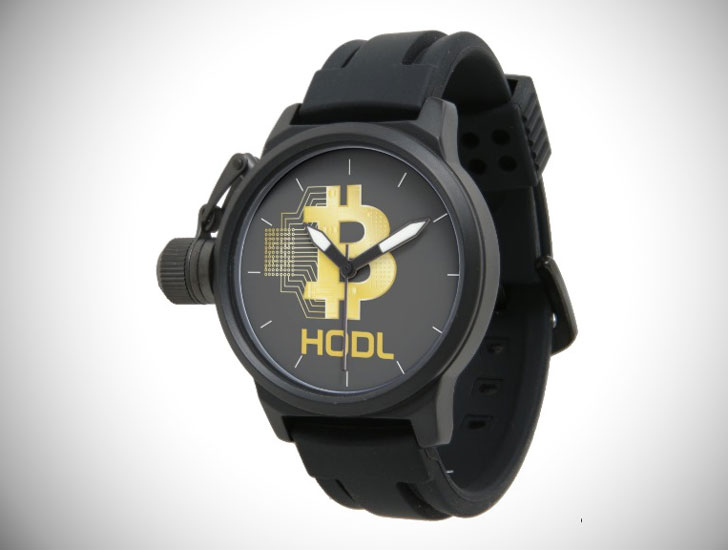 HODL Your Bitcoin Wristwatch