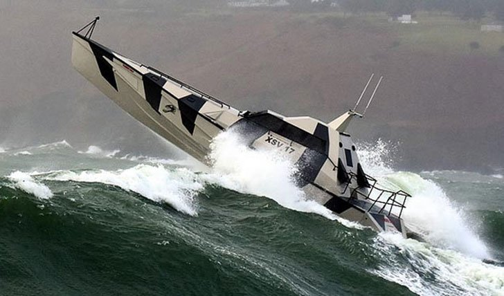 Self-Righting Capsize Recovery Boat