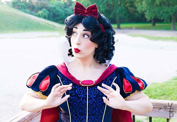 Snow White Cosplay Costume