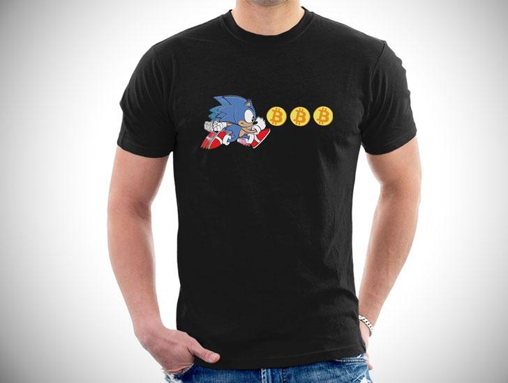 Sonic The Hedgefund Bitcoin T-Shirt