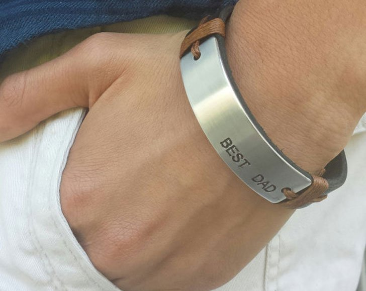 Stylish Mens Best Dada Bracelets - cool bracelets for guys