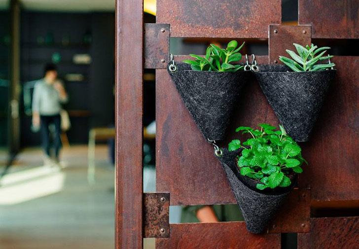 Tangram Planter Kitchen Herb Planters