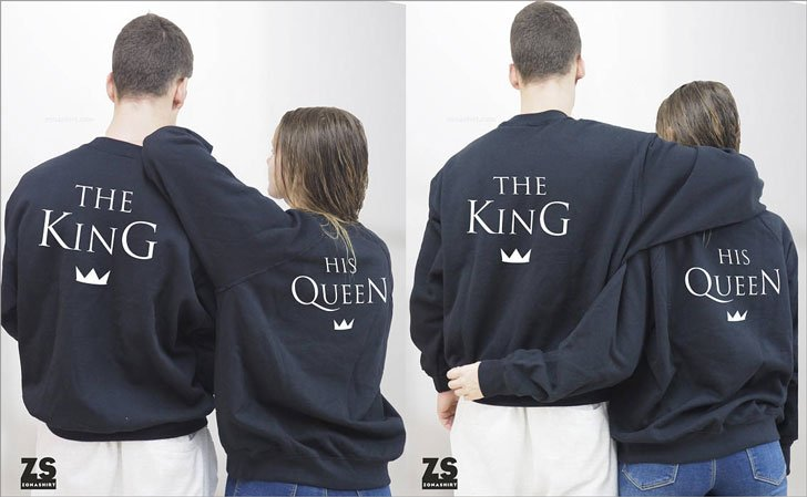 The King and His Queen Sweatshirts