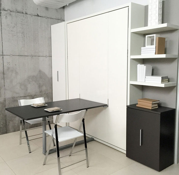 Ulisse Transforming Dining Table-Bed