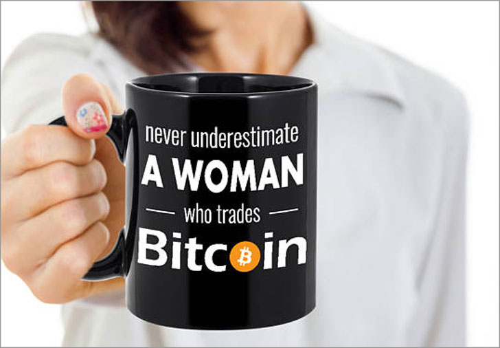 Women's Bitcoin Traders Coffee Mug