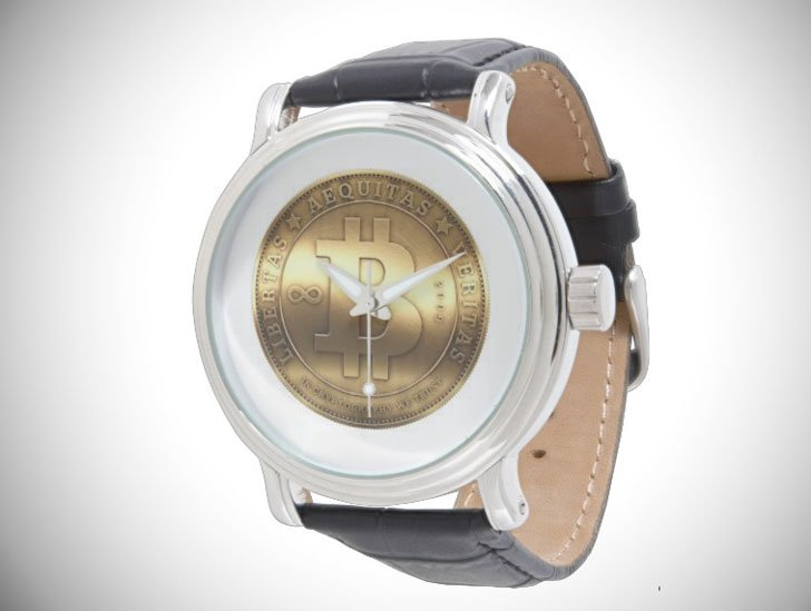 Bitcoin Wrist Watch