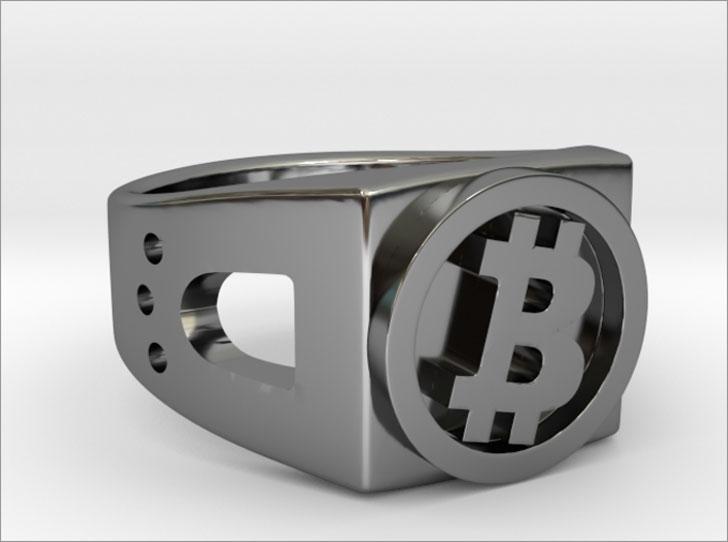 Chunky Bitcoin Ring