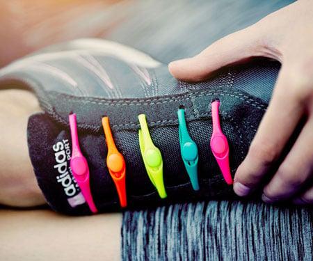 Hickies No-Tie Elastic Shoelaces