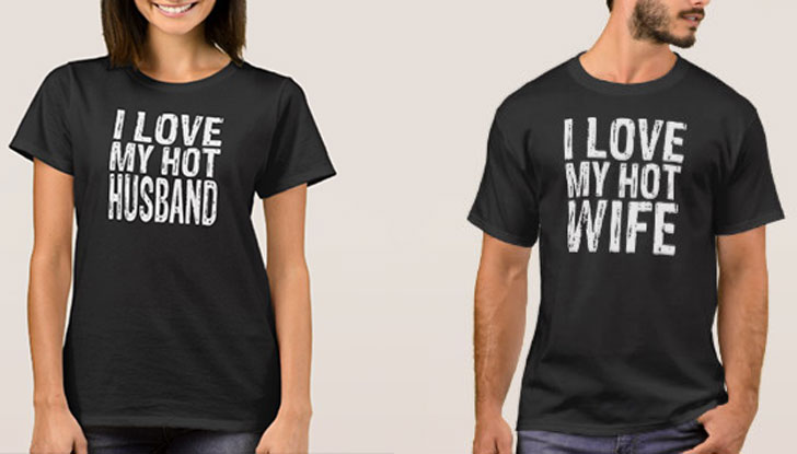 ec83f55d Couples Shirts | Cute and Funny Matching His and Hers T-Shirts