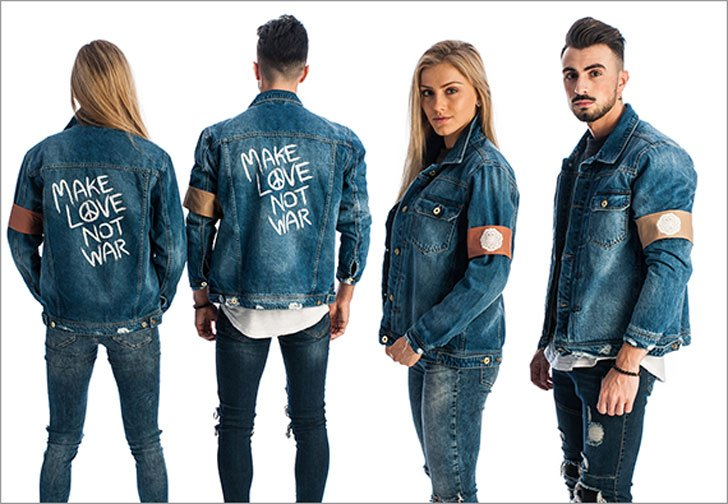 Love Not War Jeans and Jackets
