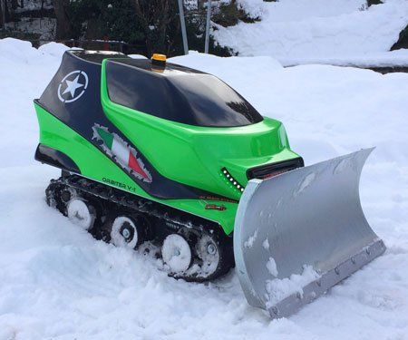 ATR Remote-Controlled Snow Plow