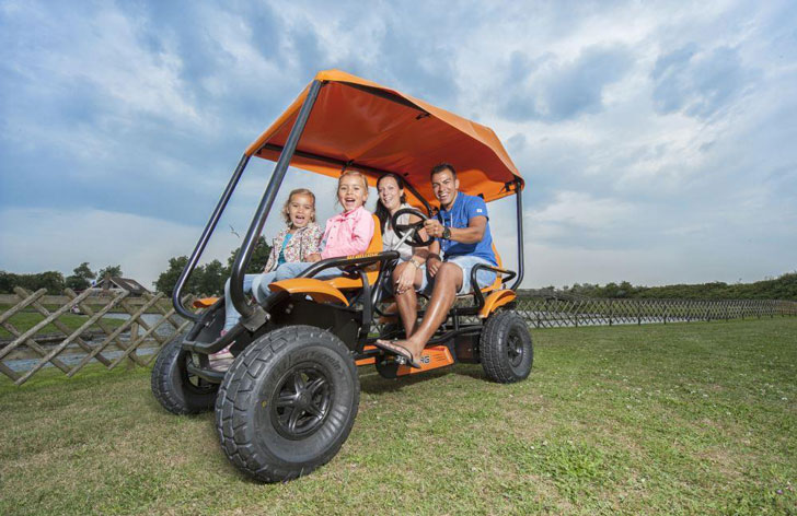 Berg 4-Seater Family Go-Kart - Awesome Stuff 365