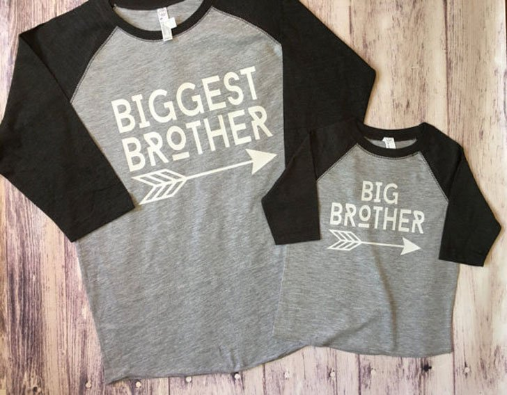 Big Brother & Biggest Brother Pregnancy Announcement Shirts